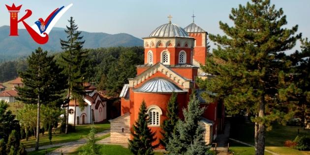 Manastir-Zica-Kraljevo